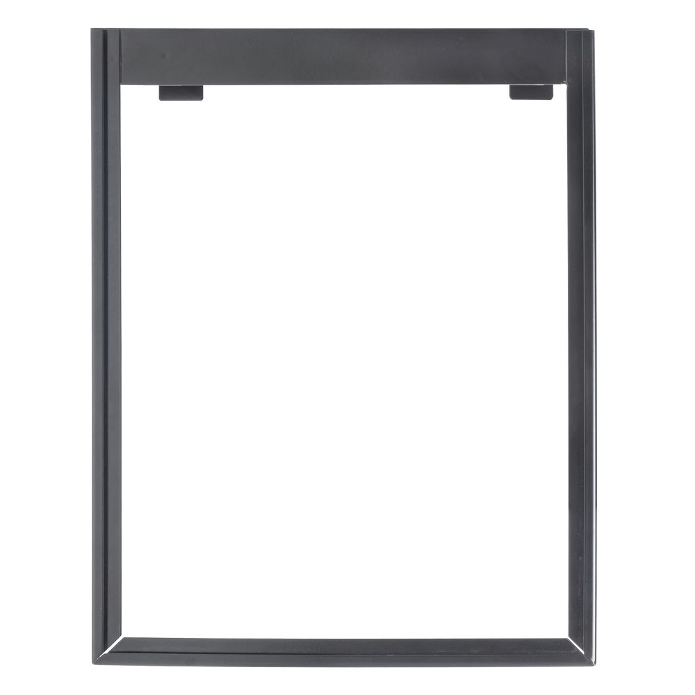 "HUBERT® Vertical Sign Frame with 2 Brackets 11""L x 14""H"