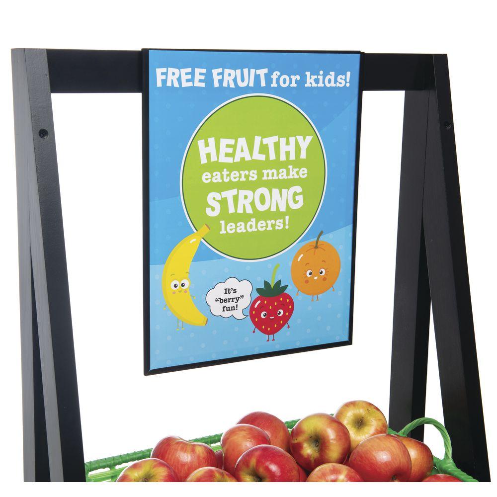 RACK, 3-SHELF, FREE FRUIT F KIDS, GRN BSKTS