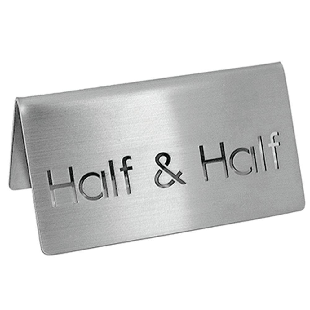 TENTS, BEVERAGE, HALF + HALF, S/S, 3X1.5