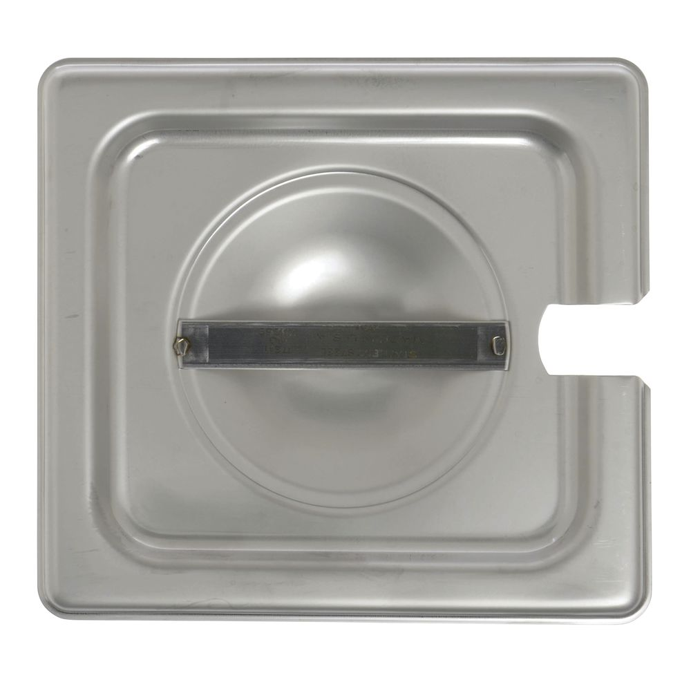 Stainless Steel Food Pan Lid Features Attractive Design