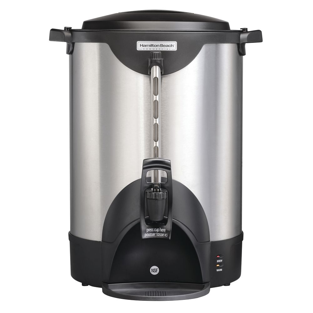 URN, COFFEE, 75 CUP, STAINLESS