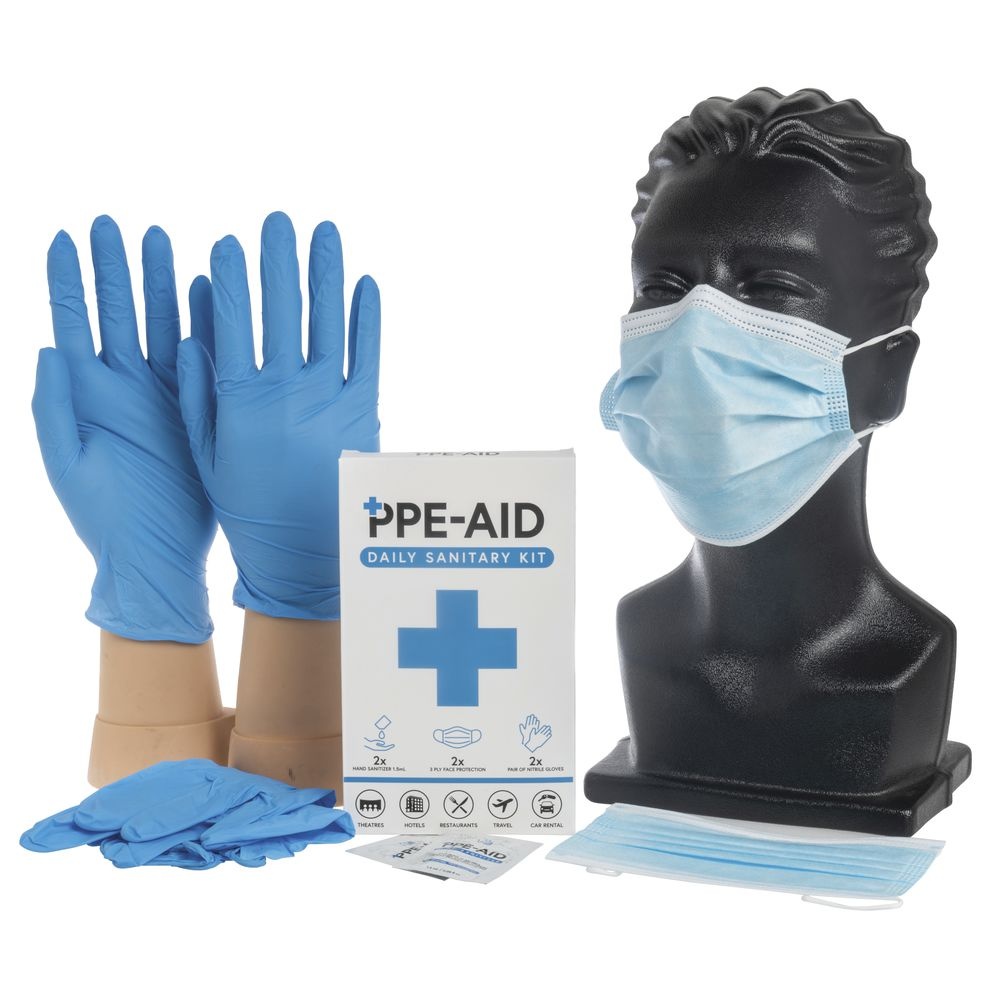 PPE-Aid Daily Sanitary Kit