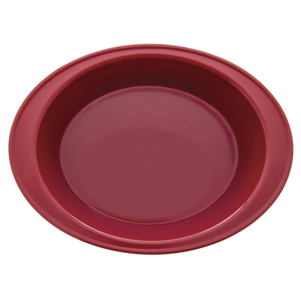 Expressly Hubert® Oval Melamine Baker Red 12 x 9 x 4