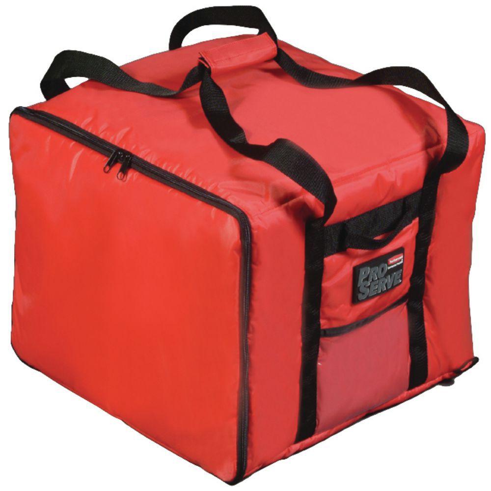 dc8c5b840fd7 Rubbermaid ProServe® Red Nylon Medium Food Delivery Bag -17