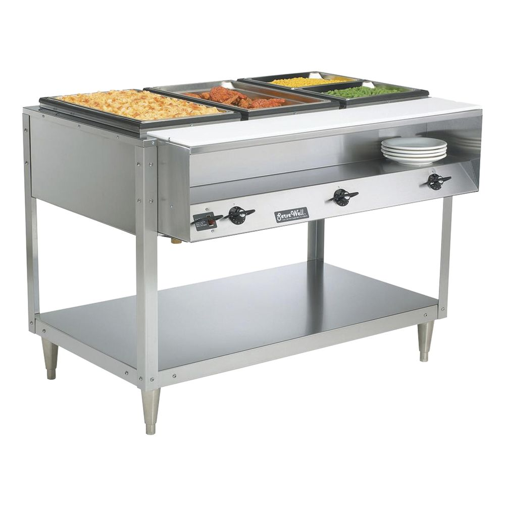 TABLE, HOT FOOD, SERVEWELL 3WELL 120/700