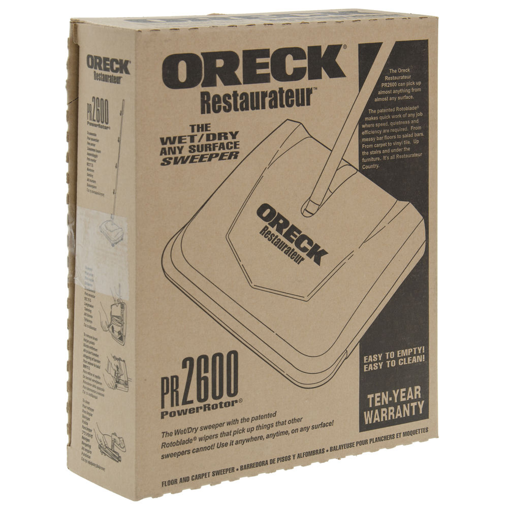 """SWEEPER, ORECK, MANUAL, 9.5"""", COMMERCIAL"""