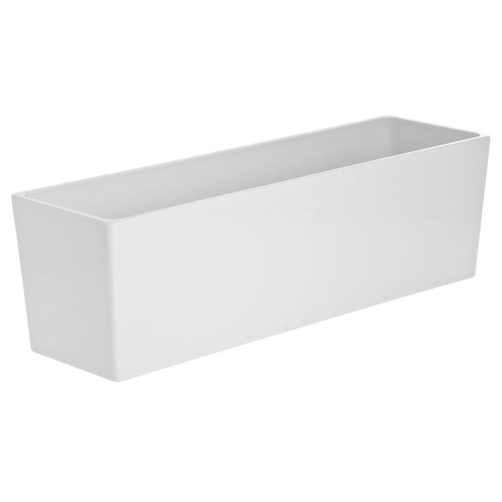 "PAN, MODULAR, 19.38X5.88X6""DEEP, WHITE"