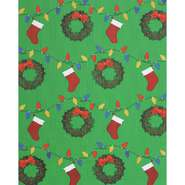 "DISPLAY WRAP, XMAS DECOR, COROBUFF, 48""X25'"
