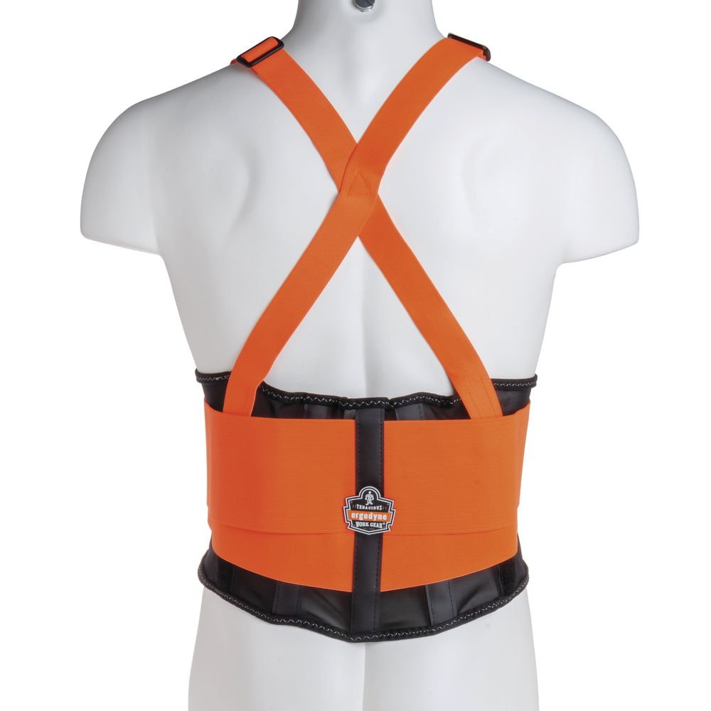 Back Support Brace In Large Is High Visibility