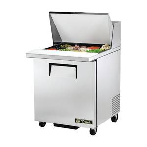 COUNTER, REFRIGERATED, MEGA TOP, SINGLE