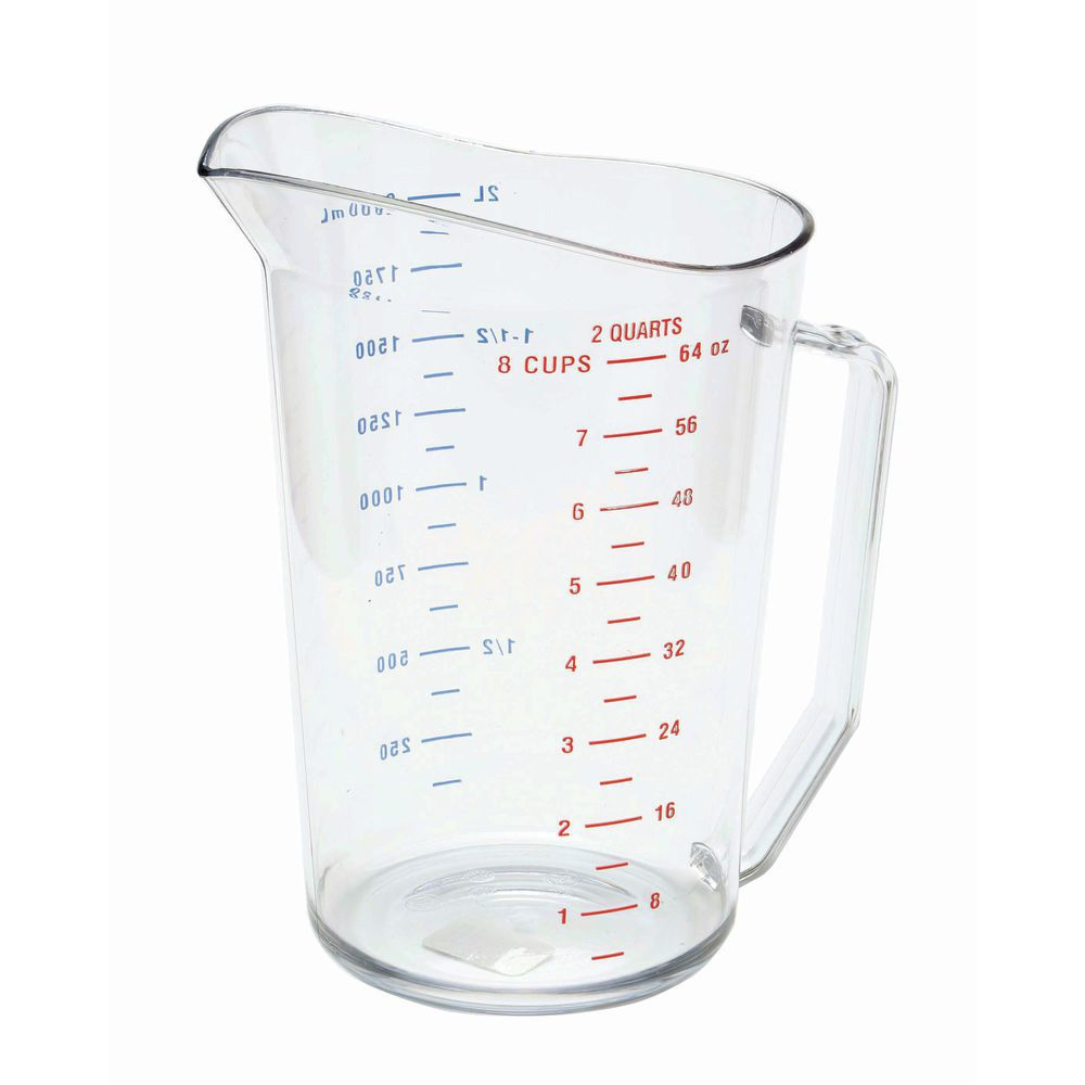 MEASURING CUP, 2 QTS., CAM-WEAR