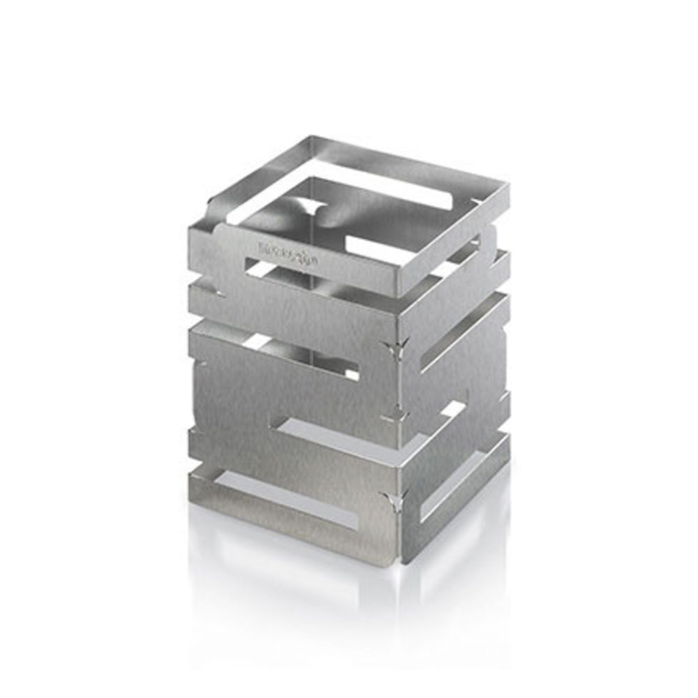 "Skycap Multi Level Risers 6""L x 6""W x 12""H Stainless Steel"