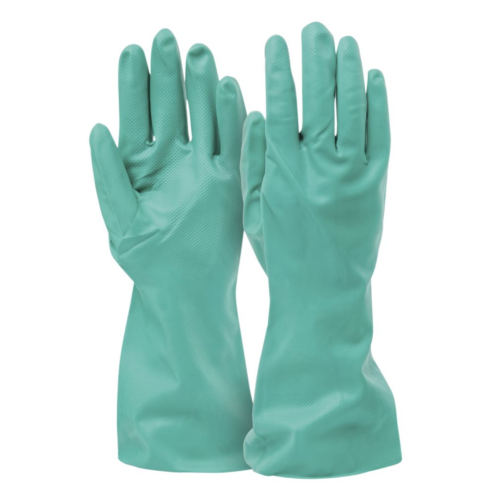 "GLOVES, NITRILE, 13""L, LINED, MEDIUM"