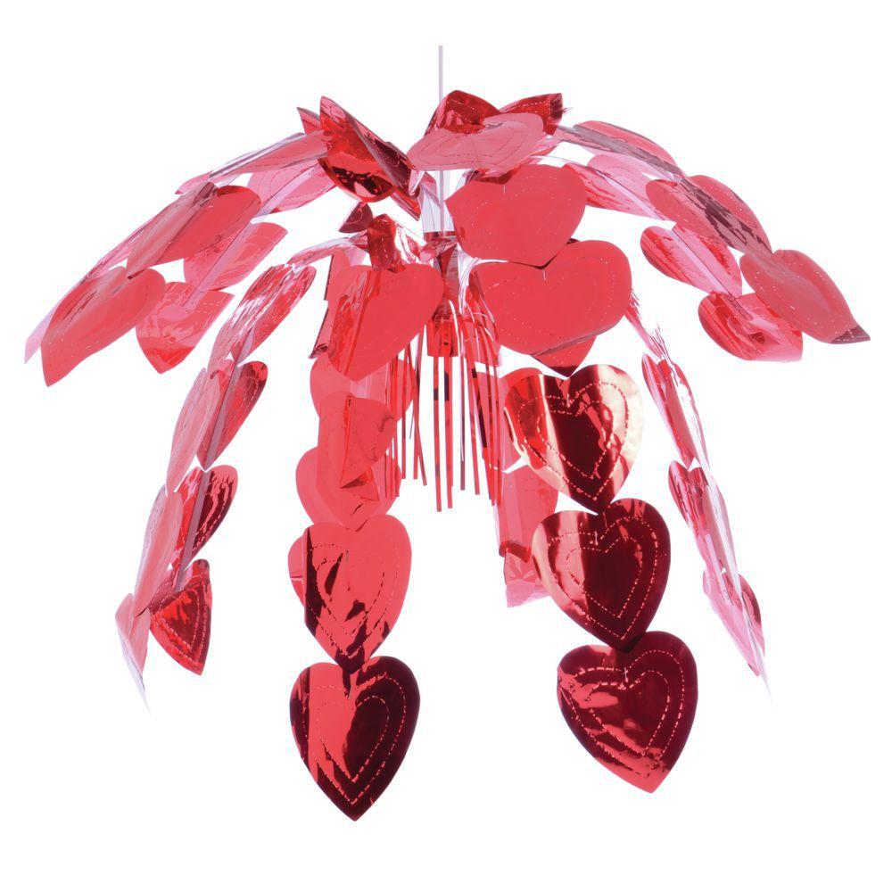 """CASCADE, HEART RED METALLIC 24"""""""
