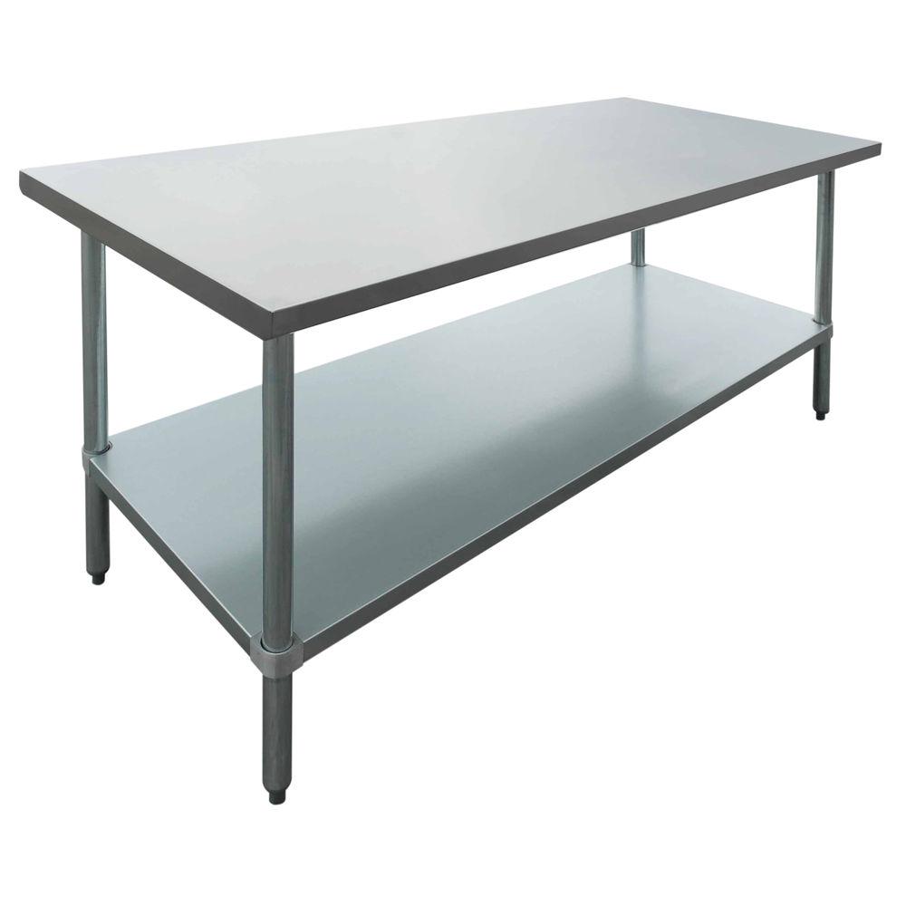 TABLE, S/S, 72X30X34
