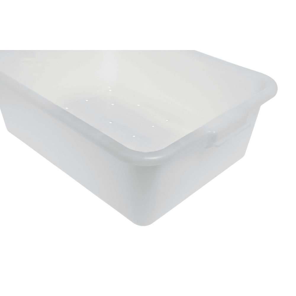 "Food Boxes Perforated 20""L x 15""D x 7""H White"