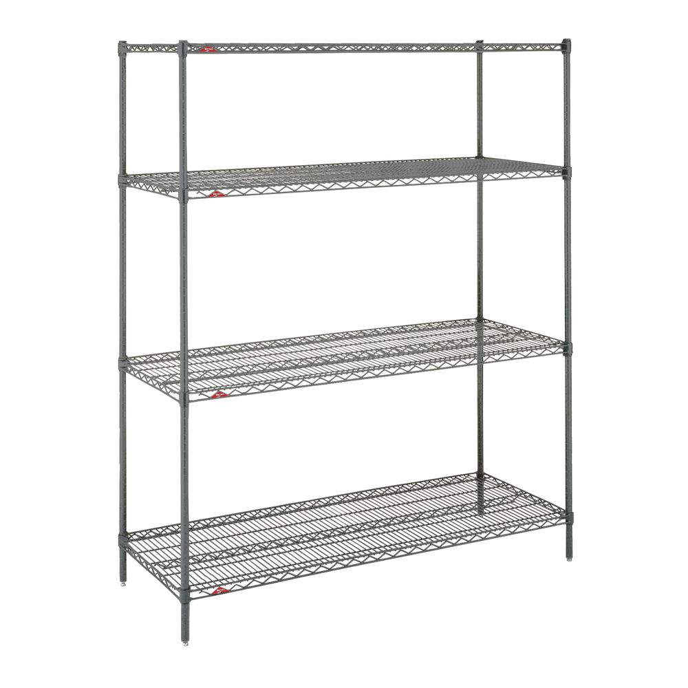 "Metro Super Erecta Metroseal 4 Shelf Metal Shelving Unit 48""L x 24""W x 63""H"