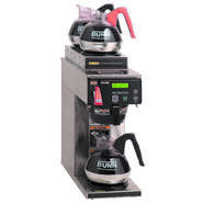 BREWER, COFFEE, AUTO, 1 LOW/2UP WARMER, US