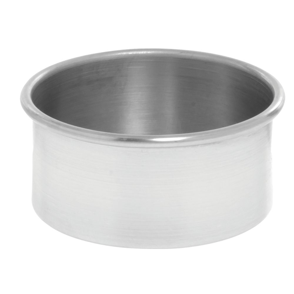 "American Metalcraft Aluminum Cake Pans 6"" x 3"""