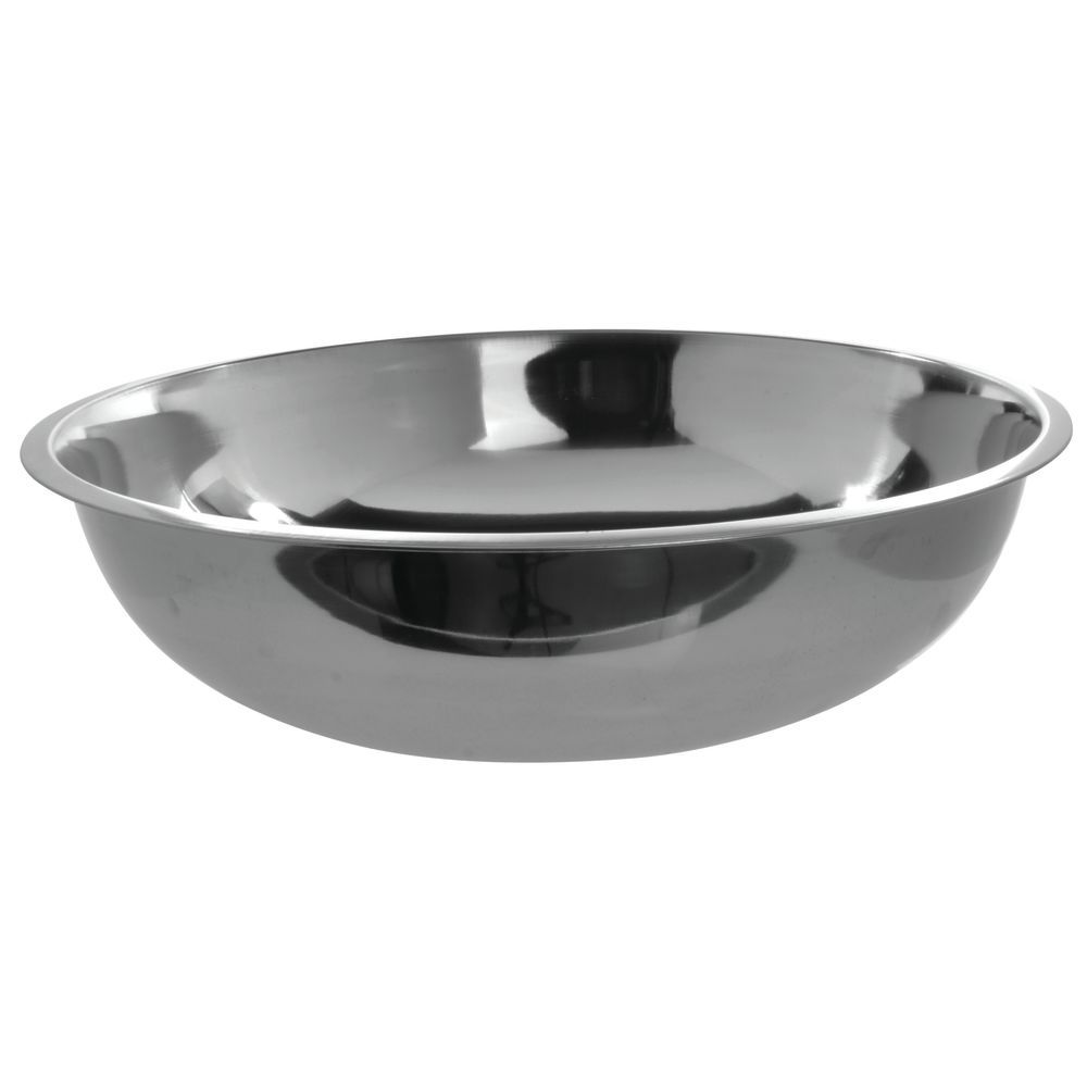 Hubert 20 Qt 24 Gauge Stainless Steel Mixing Bowl 19dia X 6 1