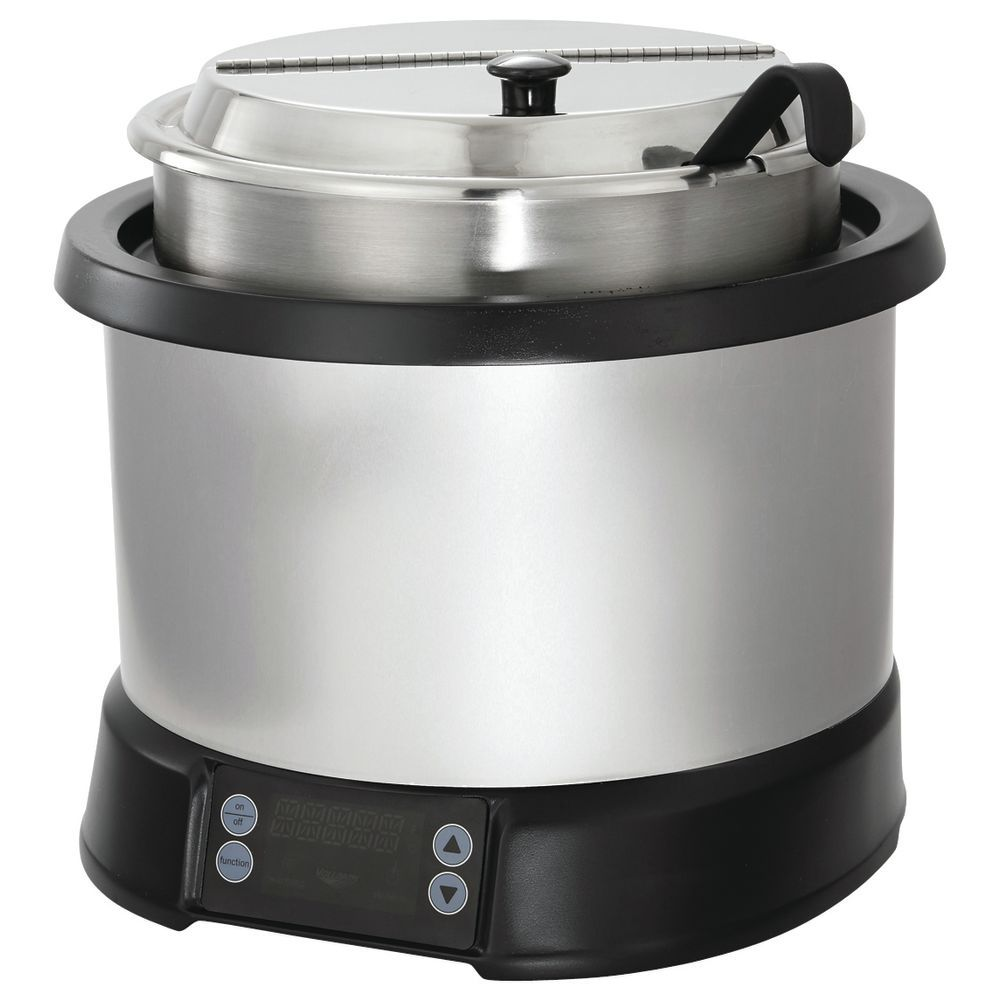 RETHERMALIZIER, INDUCTION, 7 QT SILVER