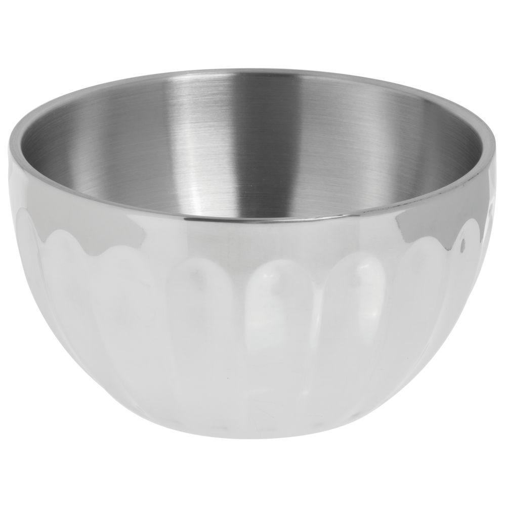 BOWL, FLUTED ROUND DBLE WALL, 1.7QT