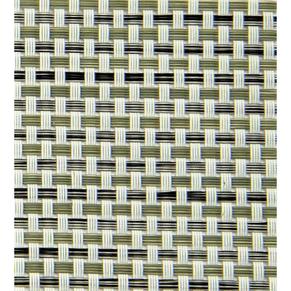 "Metroweave Vinyl Placemats Silver 16""L x 12""W"
