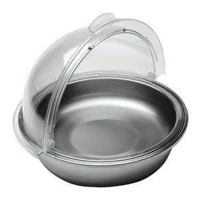 PAN, S/S, W/ROLLTOP COVER, 4.9QT