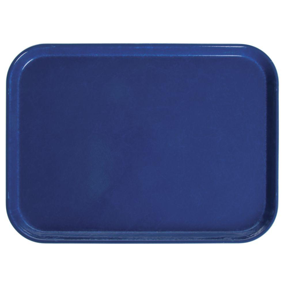 "Cambro Camtray®  Restaurant Tray Amazon Blue Fiberglass 16""L x 12""W"