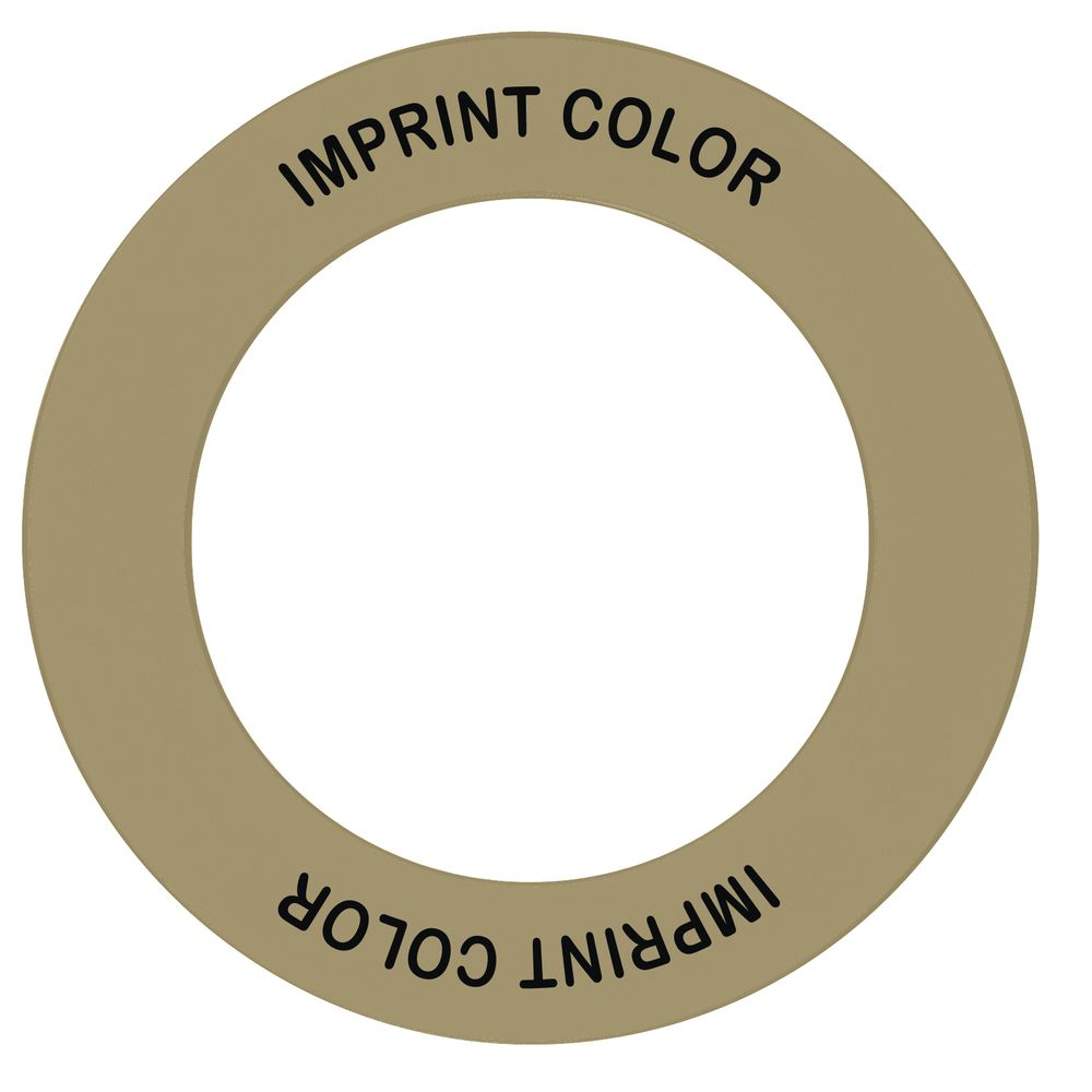 """Store 'N Pour ID Ring Gold/Black Plastic Overall Dia 5 1/2"""" Inside Dia 3 1/2"""""""