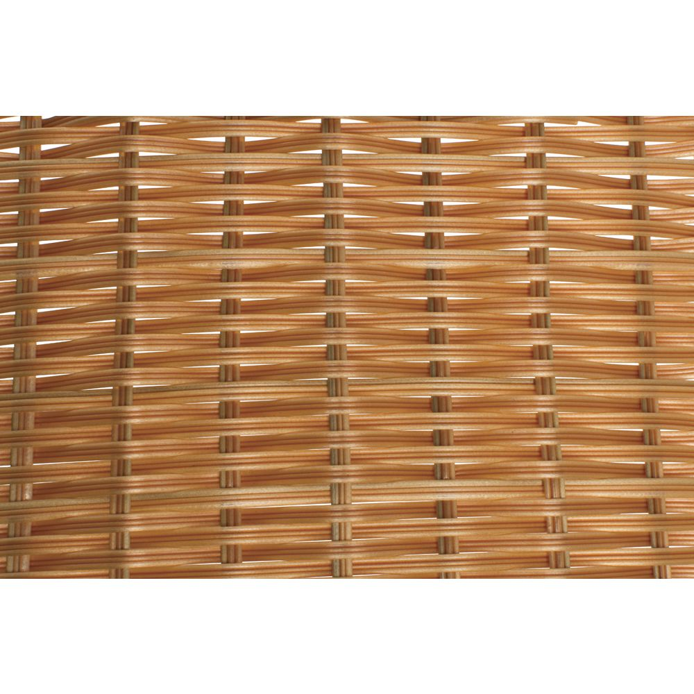 Wicker Storage Baskets with Reinforced Edges and Tapered Sides are Great for Displaying Products
