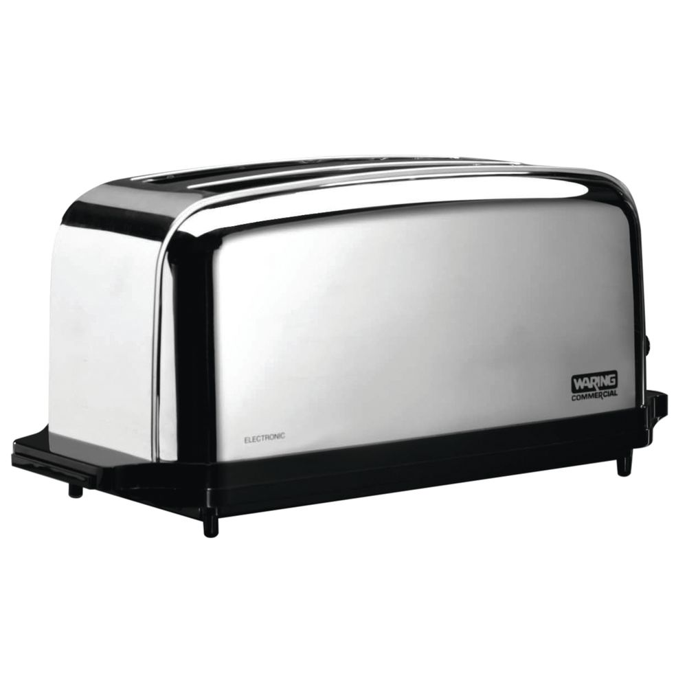 COMML.TOASTER, 2 LONG + WIDE SLOTS, 120V