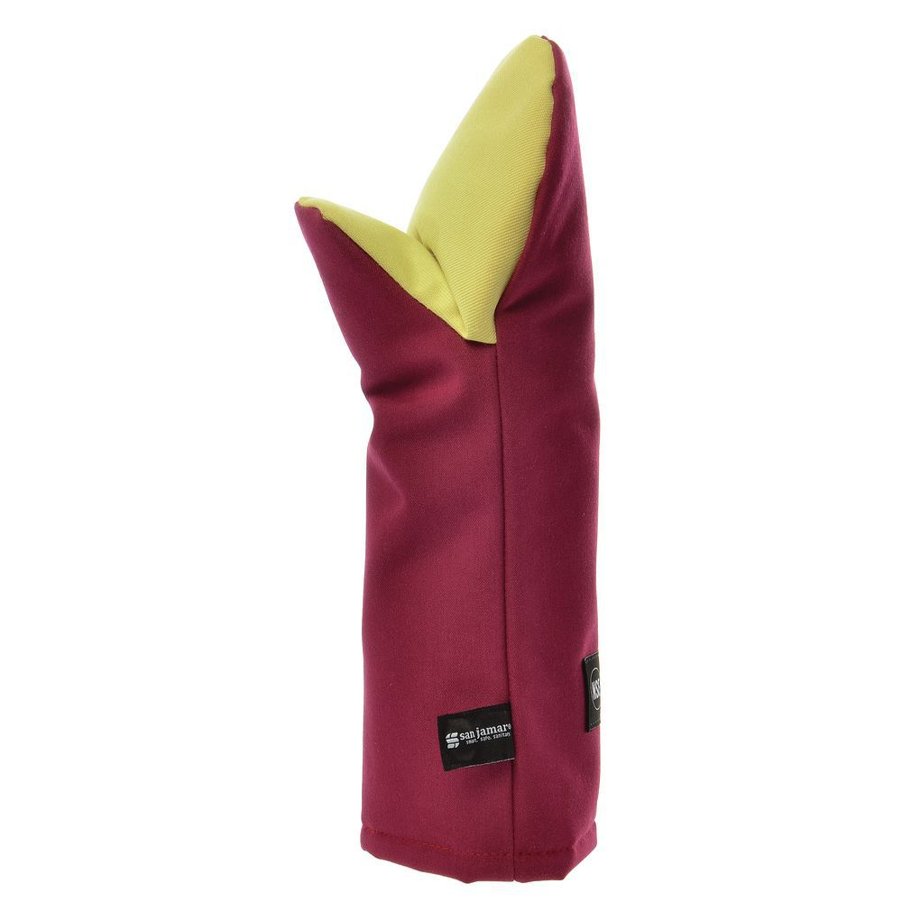 """OVEN PUPPET MITT, COOL TOUCH FLAME, 15"""""""
