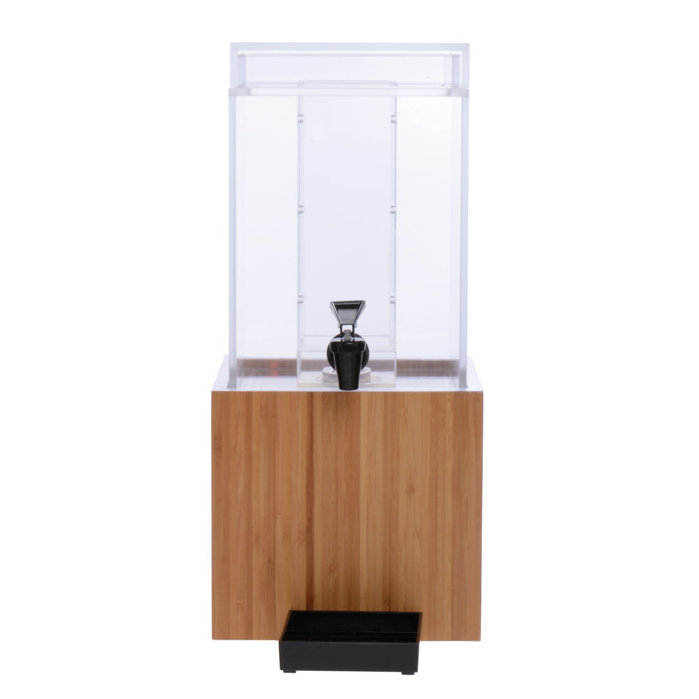 DISPENSER, INFUSION, 1.5 GAL, W/BAMBOO BASE