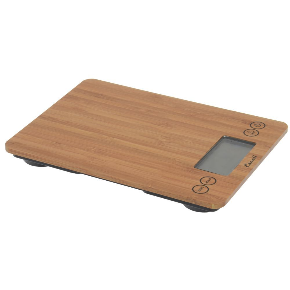 SCALE, DIGITAL, GLASS, 15LBSX0.1OZ, BAMBOO