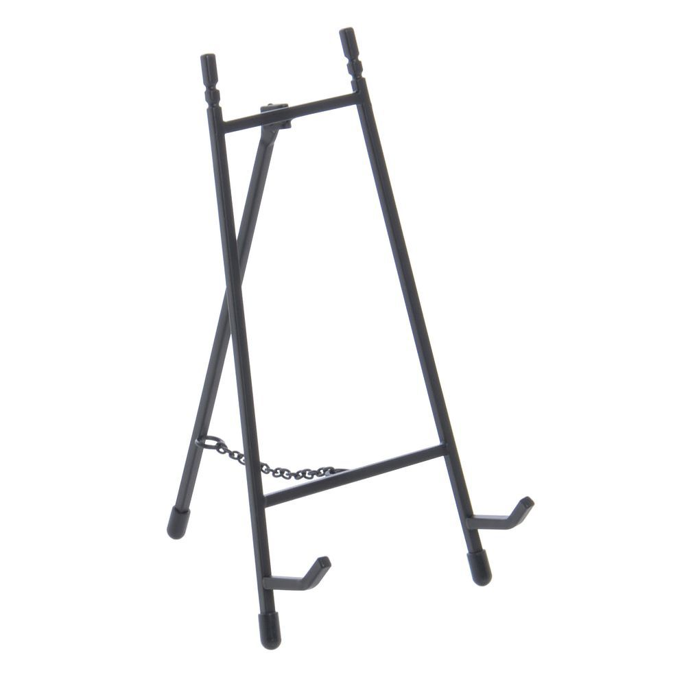 "Black Metal 9""H Easel"
