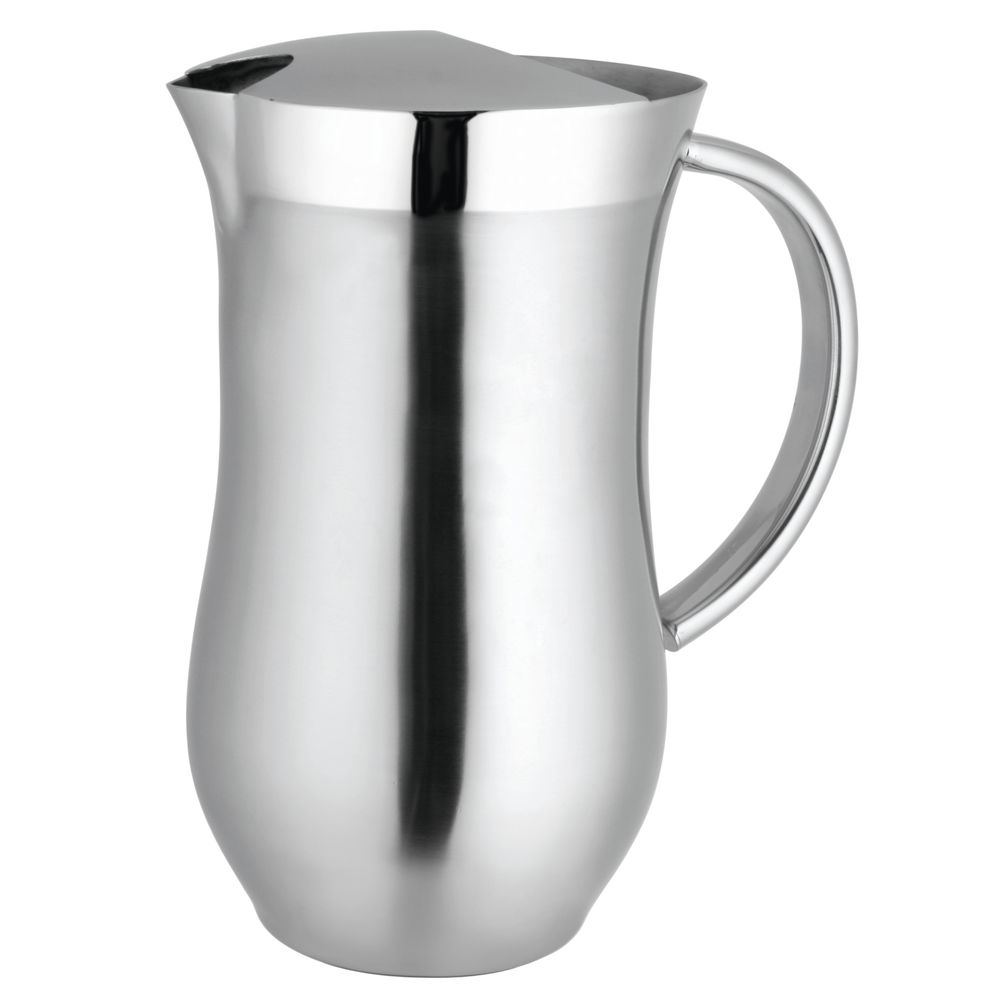 Expressly Hubert® Double Wall Stainless Pitcher with Ice Guard 54 Oz