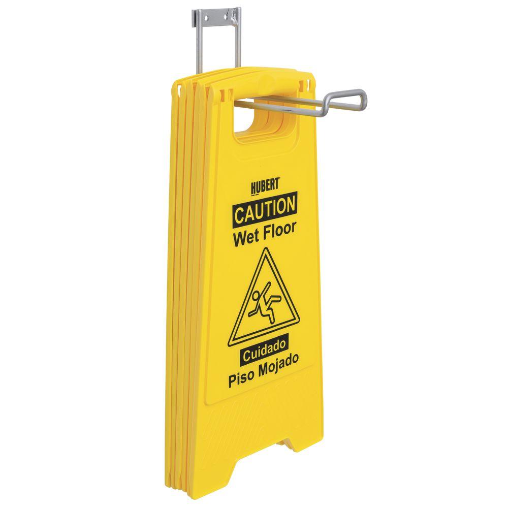 HUBERT® Wet Floor Sign Holder