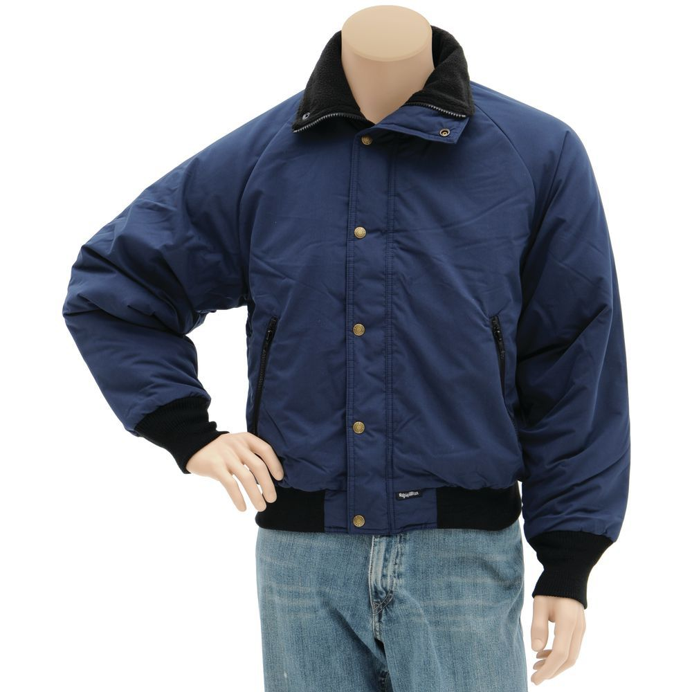 RefrigiWear Insulated Jacket Navy Medium