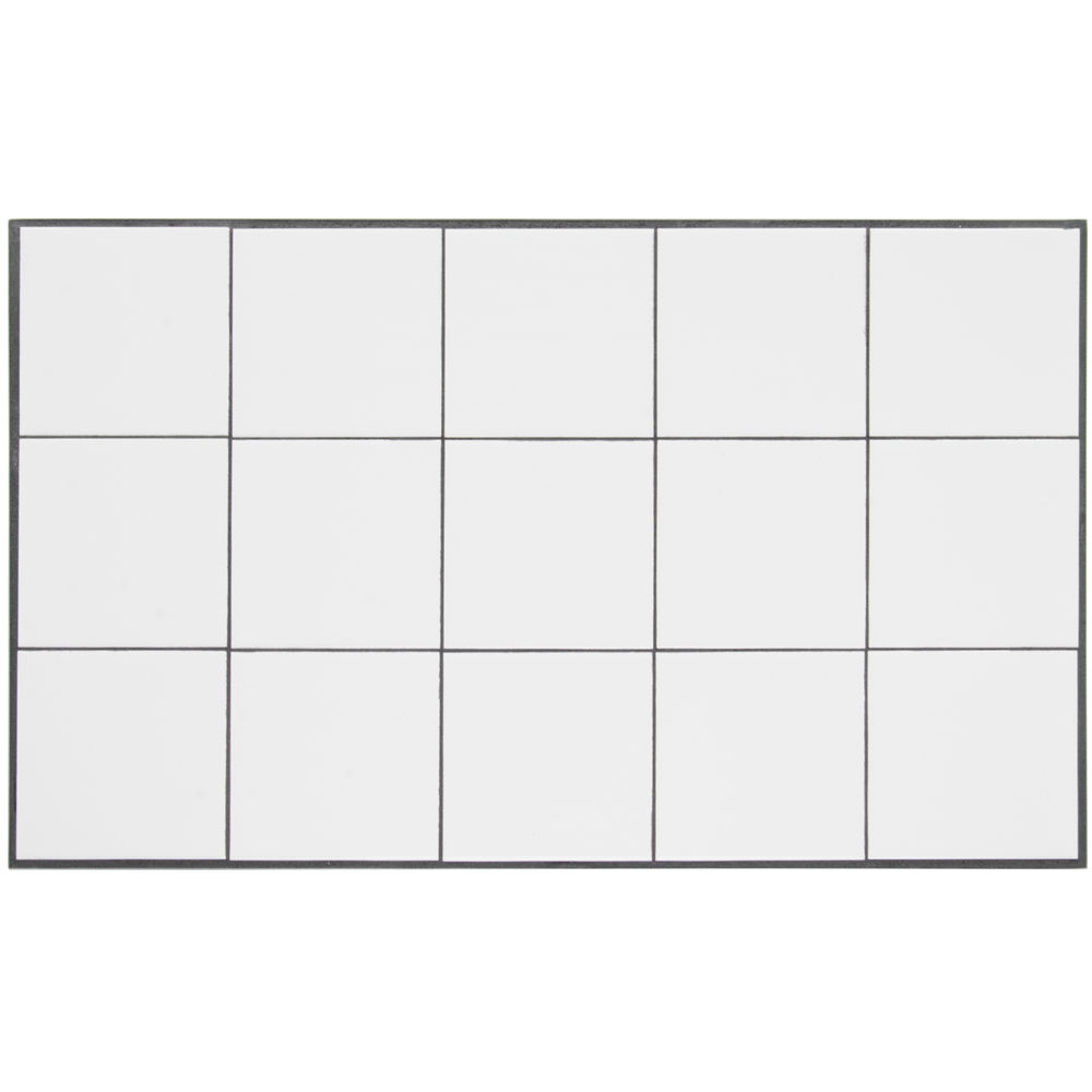 "HOT TILE, FULL SIZE, WHITE, 12-5/8""X20-7/8"""