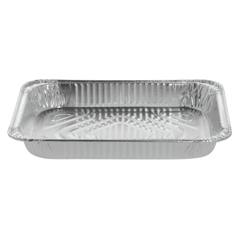 """Half Size Aluminum Foil Steam Table Pan 12 3/4""""L x 10 5/8""""W x 1 3/4""""H"""