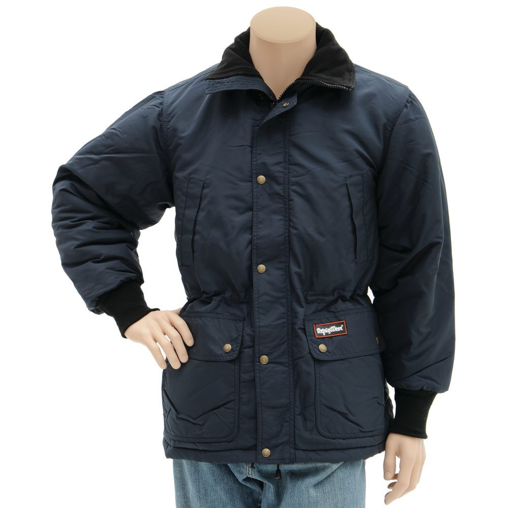 RefrigiWear Insulated Parka Navy Medium