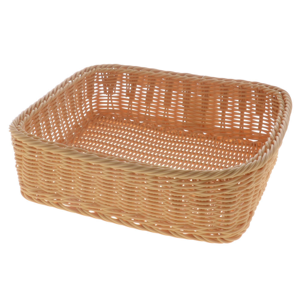 BASKET, MODULAR, 14X12-3/4X4, LIGHT BEIGE