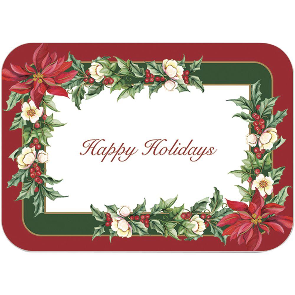 Dinex Winter Blossom Paper Tray Liner 18 3 4 Quot L X 13 5 8 Quot W