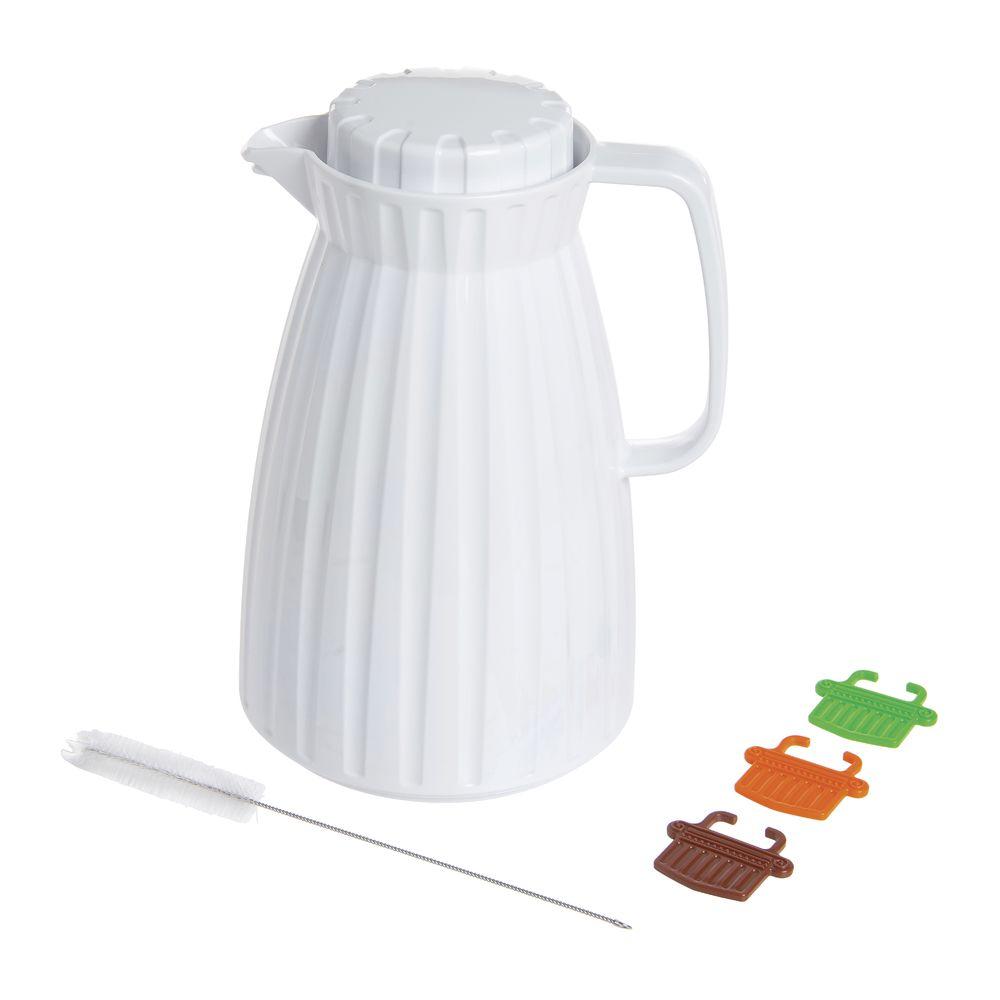 SERVER, PLASTIC, WHITE, 0.1.2L
