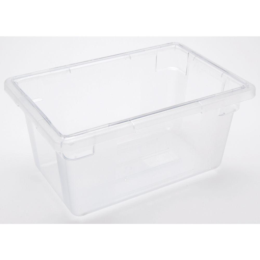 Half Size Clear Plastic Storage Box