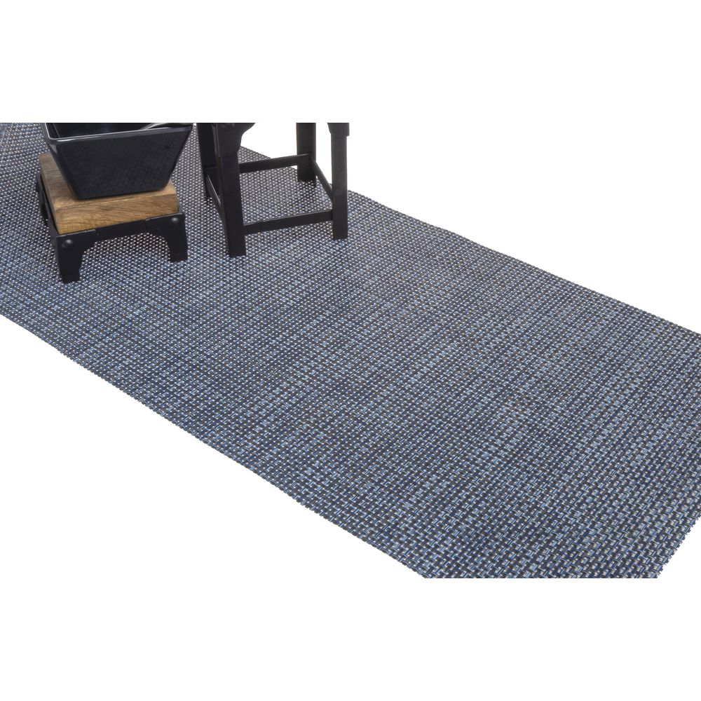 RUNNER, VINYL, BASKETWEAVE, INDIGO