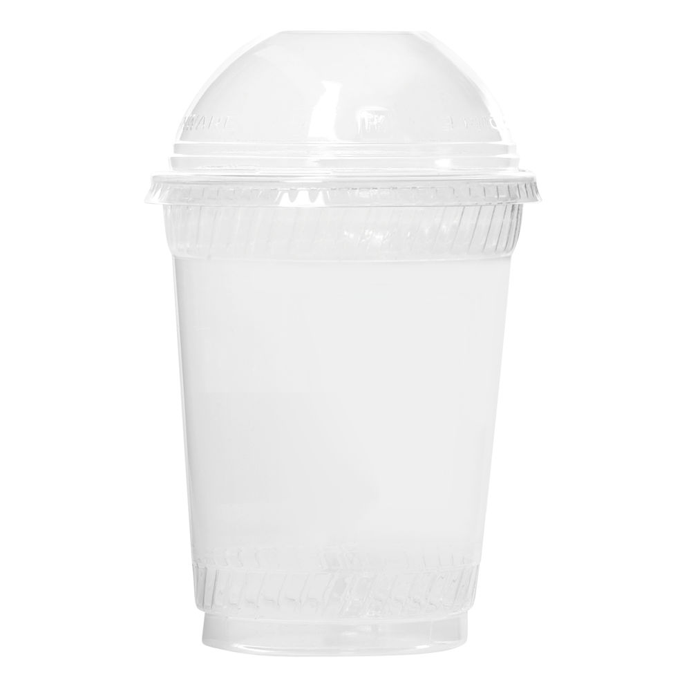 CUP, COLD 12/14 OZ SQUAT, PLA, CLEAR