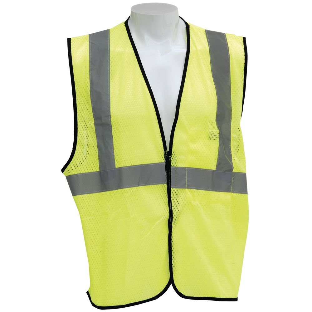 Occunomix Yellow Polyester Hi-Vis Safety Vest - Small/Medium