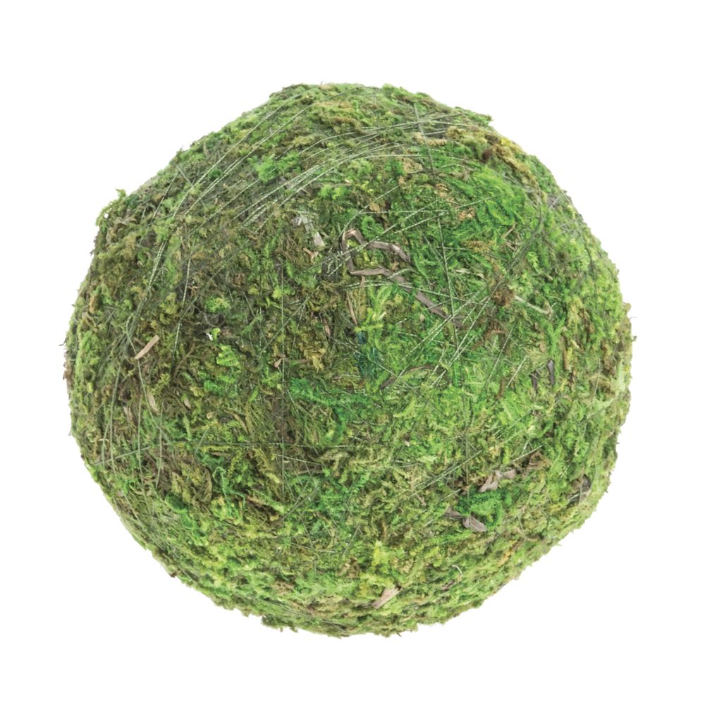 """BALL, MOSS, GREEN, 4""""DIA"""